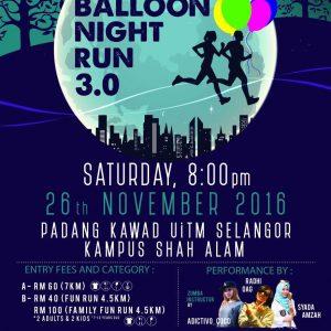 Balloon Night Run 3.0 2016