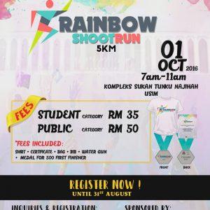 Rainbow Shootrun 2016