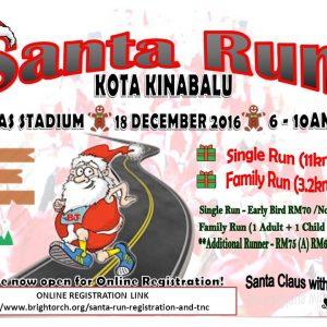 Santa Run Kota Kinabalu 2016