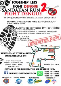 Sandakan Run 2: Fight Dengue