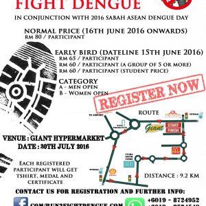Sandakan Run 2: Fight Dengue