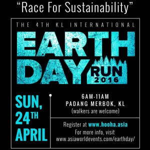 KL International Earth Day Run 2016