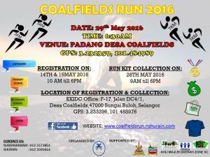Coalfields Run 2016