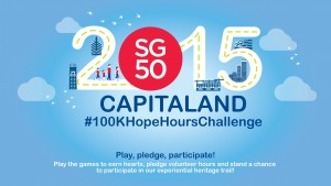 CapitaLand #100KHopeHours Challenge Experiential Heritage Trail 2015