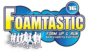 FOAMtastic: Foam Up & Run, 5km Charity Fun Run 2016