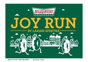 Krispy Kreme Doughnut Joy Run by Larian Spektra 2016