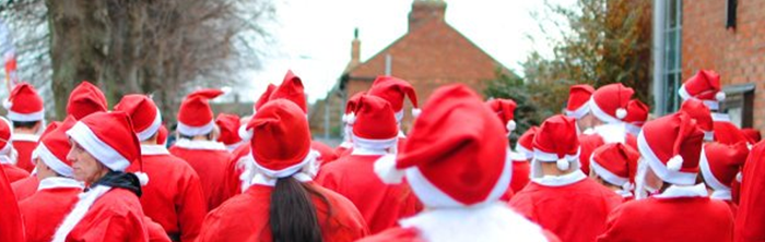 nether heyford santa run
