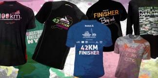 Marathon Finisher T-Shirts