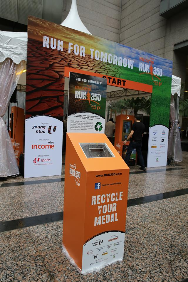 medal recycling point 350 singapore