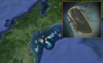 Pandan Island, Philippines map.