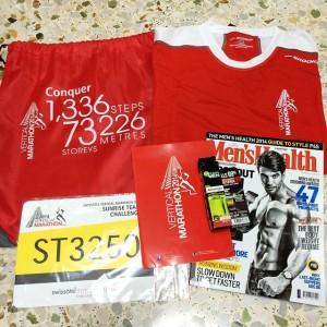 Swissôtel Vertical Marathon 2014