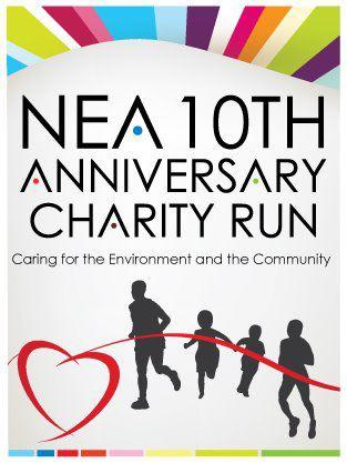 NEA's 10th Anniversary Charity Run
