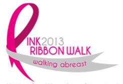 Pink Ribbon Walk 2013