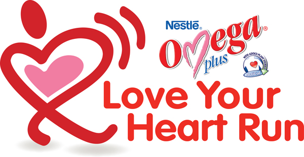 Nestlé® Omega Plus® Acticol® Love Your Heart Run 2013