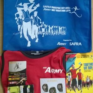 SAFRA Singapore Bay Run & Army Half Marathon 2014