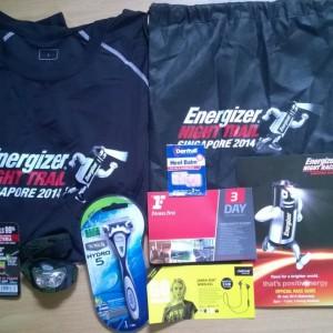 Energizer Singapore Night Trail 2014