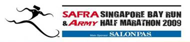 SAFRA Singapore Bay Run & Army Half Marathon 2009