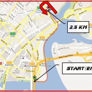 Singapore Flyer 5km Run