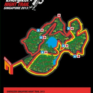 Energizer Singapore Night Trail 2013