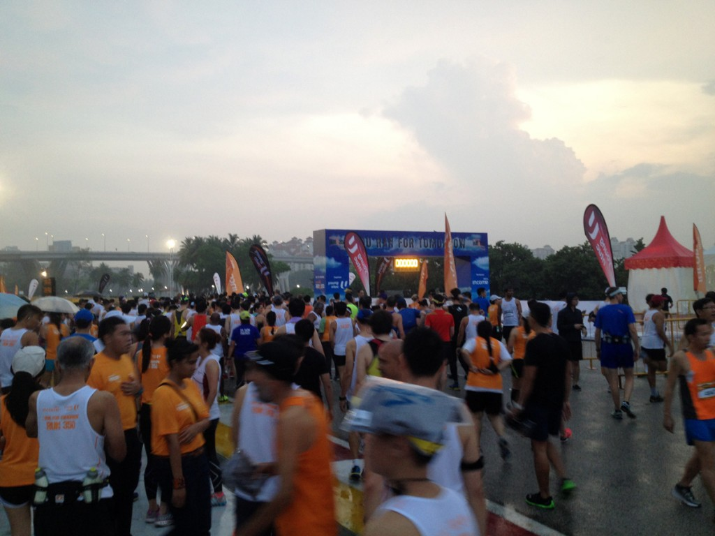 10km race is ON and all are welcome to join!