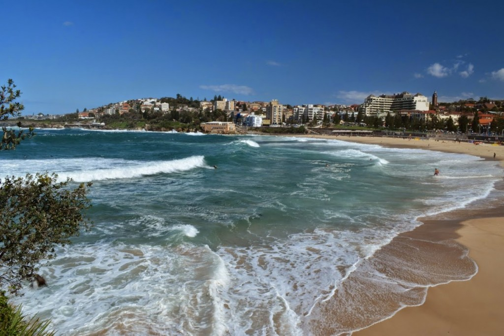 coogee beach running