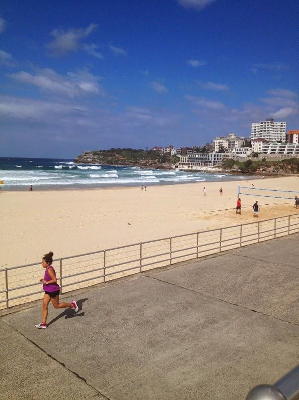 running bondi beach sydney 1