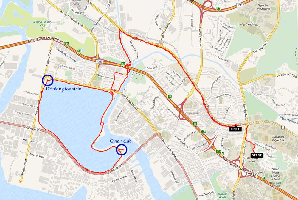 running-routes-singapore-pandan-reservoir