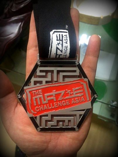 maze challenge asia medal