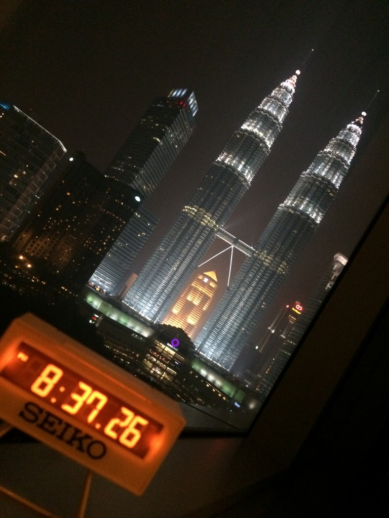 The Petronas Towers and my souvenir