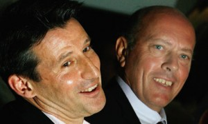 Lord Coe and Steve Ovett