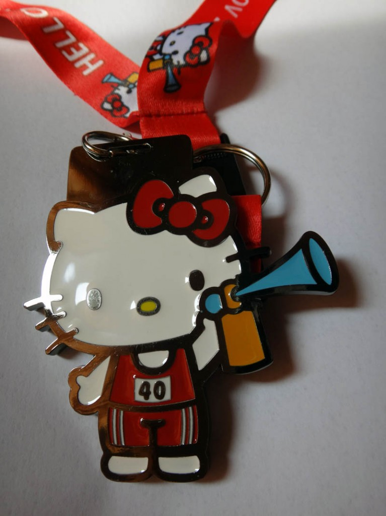 hello kitty run medal