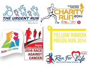 Charity Runs in 2014