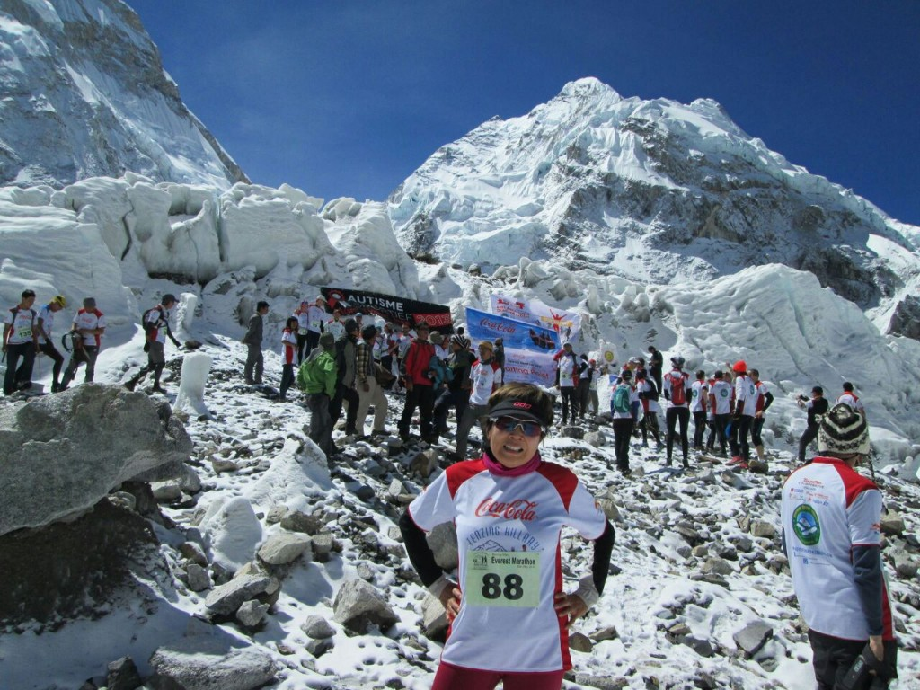 gloria marathon everest