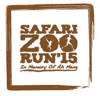 Safari Zoo Run 2015 (Day 2: Family Run)