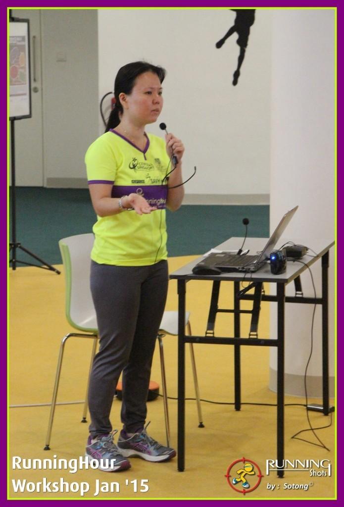 1st Speaker - Michelle