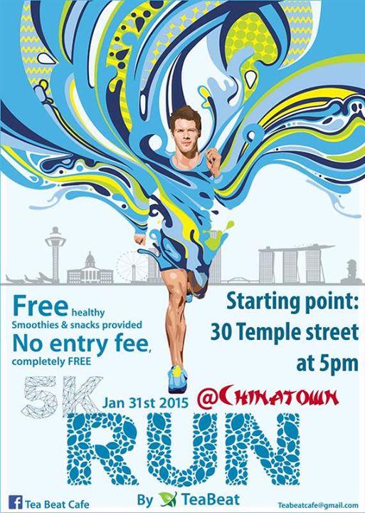 5K Run @ Chinatown 2015