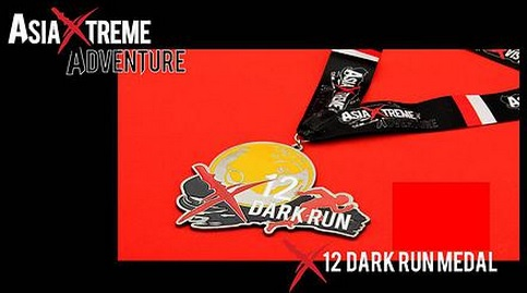 Earn your first of 5 medals from the Asia Xtreme Adventure series
