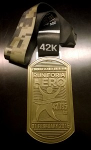 A finisher medal that is worth every step!