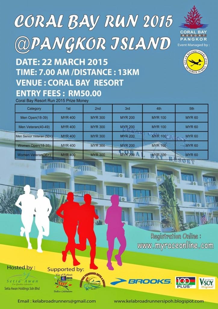 Coral Bay Run 2015 @ Pangkor Island