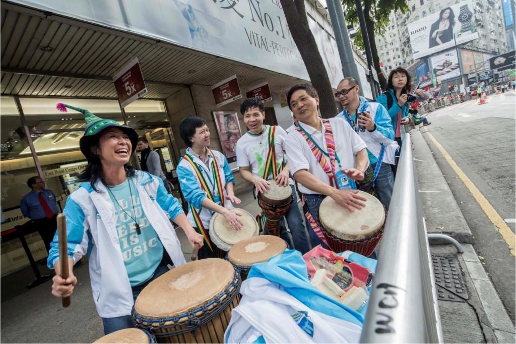 hk marathon music 2015