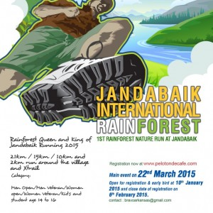 Jandabaik International Rainforest Run 2015