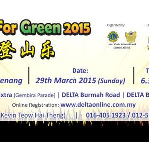 Lions Climb For Green 2015