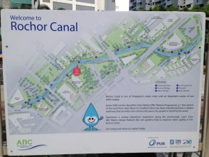 Map of Rochor Canal