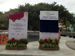Opening Ceremony of Rochor Canal.