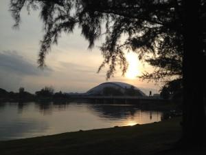 Beautiful Sunrise @ Sports Hub