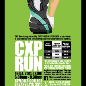 Classroom Xperience Charity Run 2015