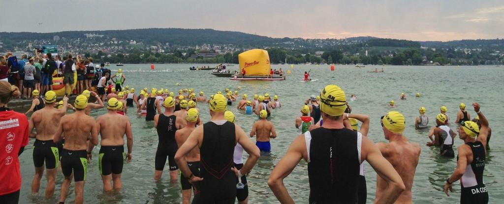 IMzurich swim start