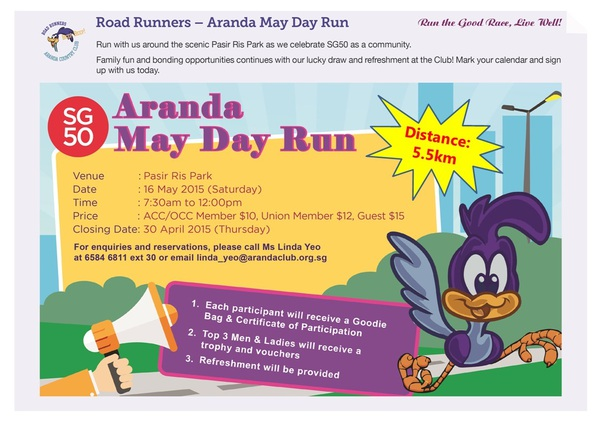 Aranda May Day Run 2015