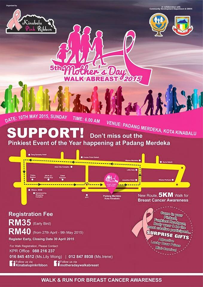 5th Mother's Day Walk Abreast 2015