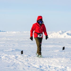 Gloria Lau recounts the North Pole Marathon